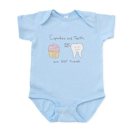 Cupcakes vs. Teeth - Infant Bodysuit