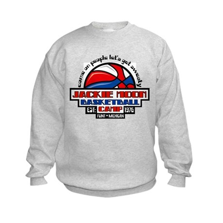Jackie Moon Basketball Camp Kids Sweatshirt