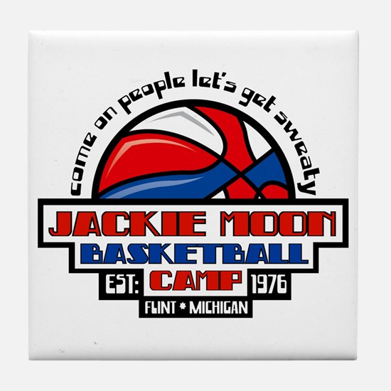 Jackie Moon Basketball Camp Tile Coaster