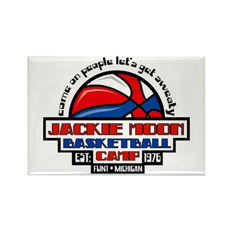 Jackie Moon Basketball Camp Rectangle Magnet