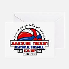 Jackie Moon Basketball Camp Greeting Card