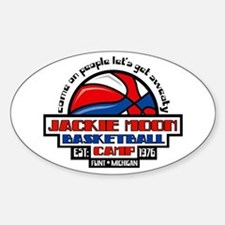 Jackie Moon Basketball Camp Decal