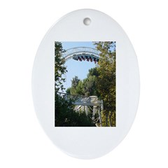 Heartpounder Oval Ornament