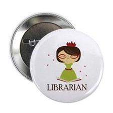 "So Cute Librarian 2.25"" Button"