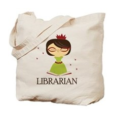 So Cute Librarian Tote Bag
