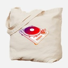 Vinyl Turntable 5 Tote Bag