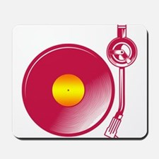 Vinyl Turntable 4 Mousepad