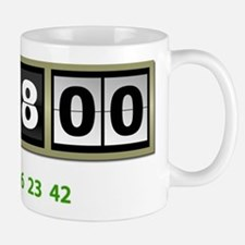 Lost Numbers 108 Minutes Small Small Mug