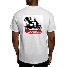 Official Logo Ash Grey T-Shirt