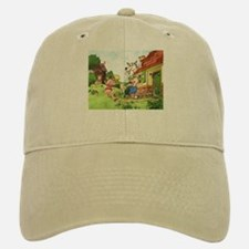 The Pigs and the Wolf Baseball Baseball Cap