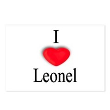 Leonel Postcards (Package of 8)