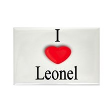 Leonel Rectangle Magnet
