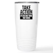 Take Action Travel Mug