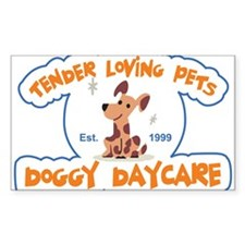 Tender Loving Pets Doggy Dayc Decal