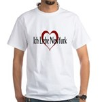 Ich Liebe New York White T-shirt