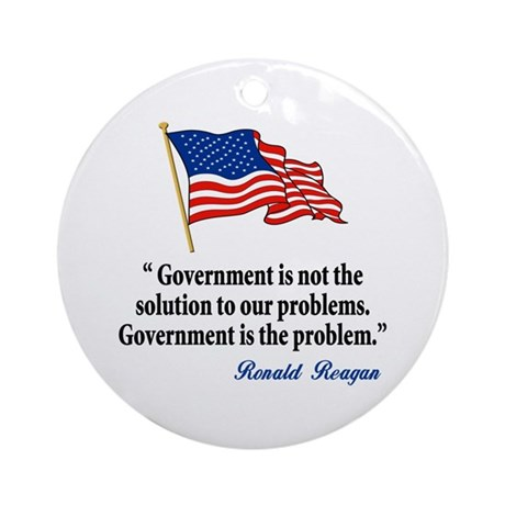 Tea party Revolt Ornament (Round)