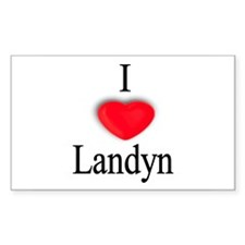 Landyn Rectangle Decal