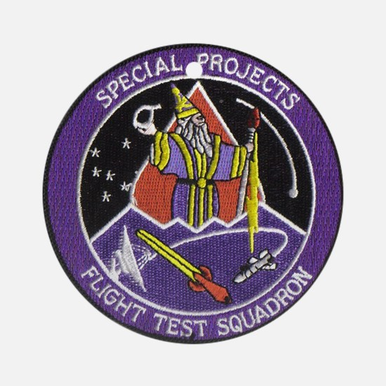 Special Projects Flight Test Ornament (Round)