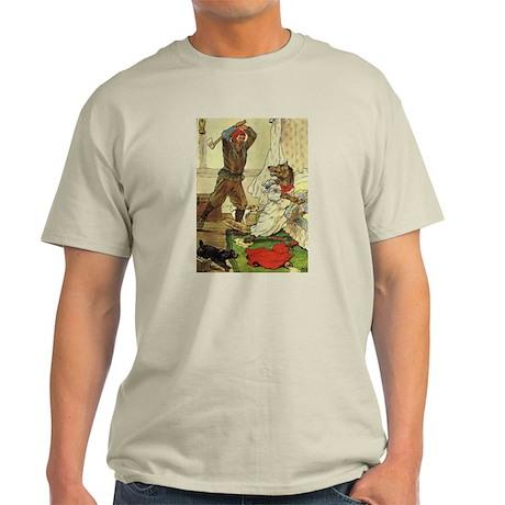Woodsman Saves Red Riding Hood Light T-Shirt