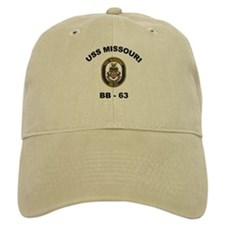 USS Missouri BB 63 Baseball Cap
