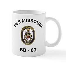 USS Missouri BB 63 Mug