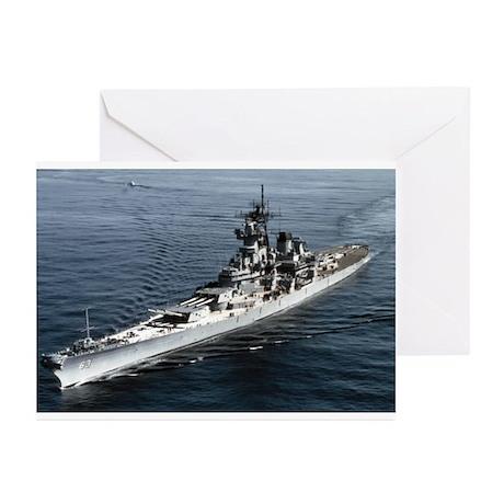 USS Missouri BB 63 Greeting Cards (Pk of 10)