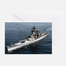 USS Missouri BB 63 Greeting Cards (Pk of 10)