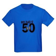 Dad's 50th Birthday T