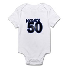 Dad's 50th Birthday Infant Bodysuit