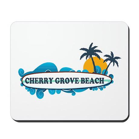 Cherry Grove SC - Surf Design Mousepad