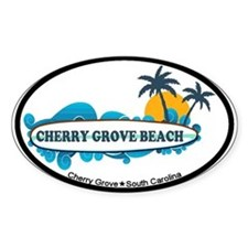 Cherry Grove SC - Surf Design Decal