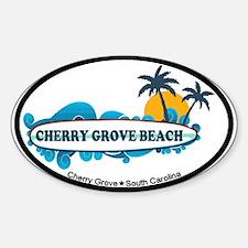 Cherry Grove SC - Surf Design Decal