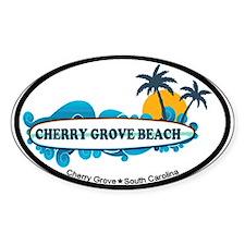 Cherry Grove SC - Surf Design Stickers
