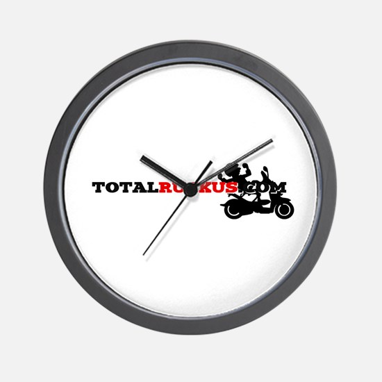 TotalRuckus Wall Clock