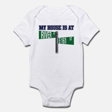 161st and River Infant Bodysuit