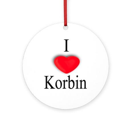 Korbin Ornament (Round)