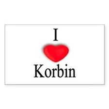 Korbin Rectangle Decal
