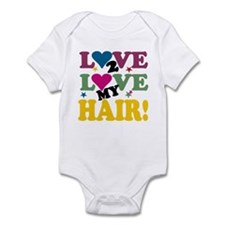 Love 2 Love My Hair! Infant Bodysuit