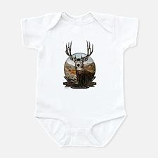 Mule deer Painting Infant Bodysuit