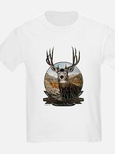 Mule deer Painting T-Shirt