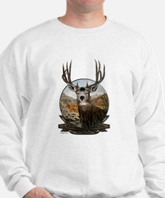 Mule deer Painting Sweatshirt