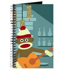 Sock Monkey Guitar Player Journal