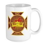Masonic York Rite (KT) Large Mug