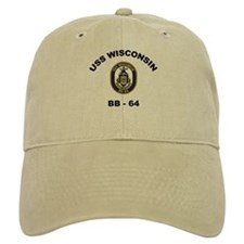 USS Wisconsin BB 64 Baseball Cap