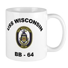 USS Wisconsin BB 64 Mug