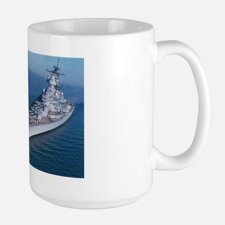 USS Wisconsin BB 64 Ships Image Mug