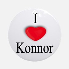 Konnor Ornament (Round)