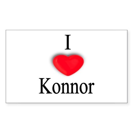 Konnor Rectangle Sticker