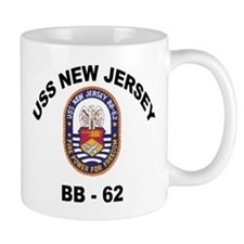 USS New Jersey BB 62 Mug