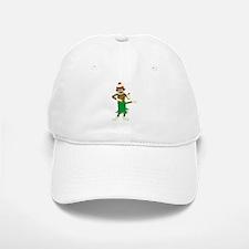 Sock Monkey Ukulele Baseball Baseball Cap
